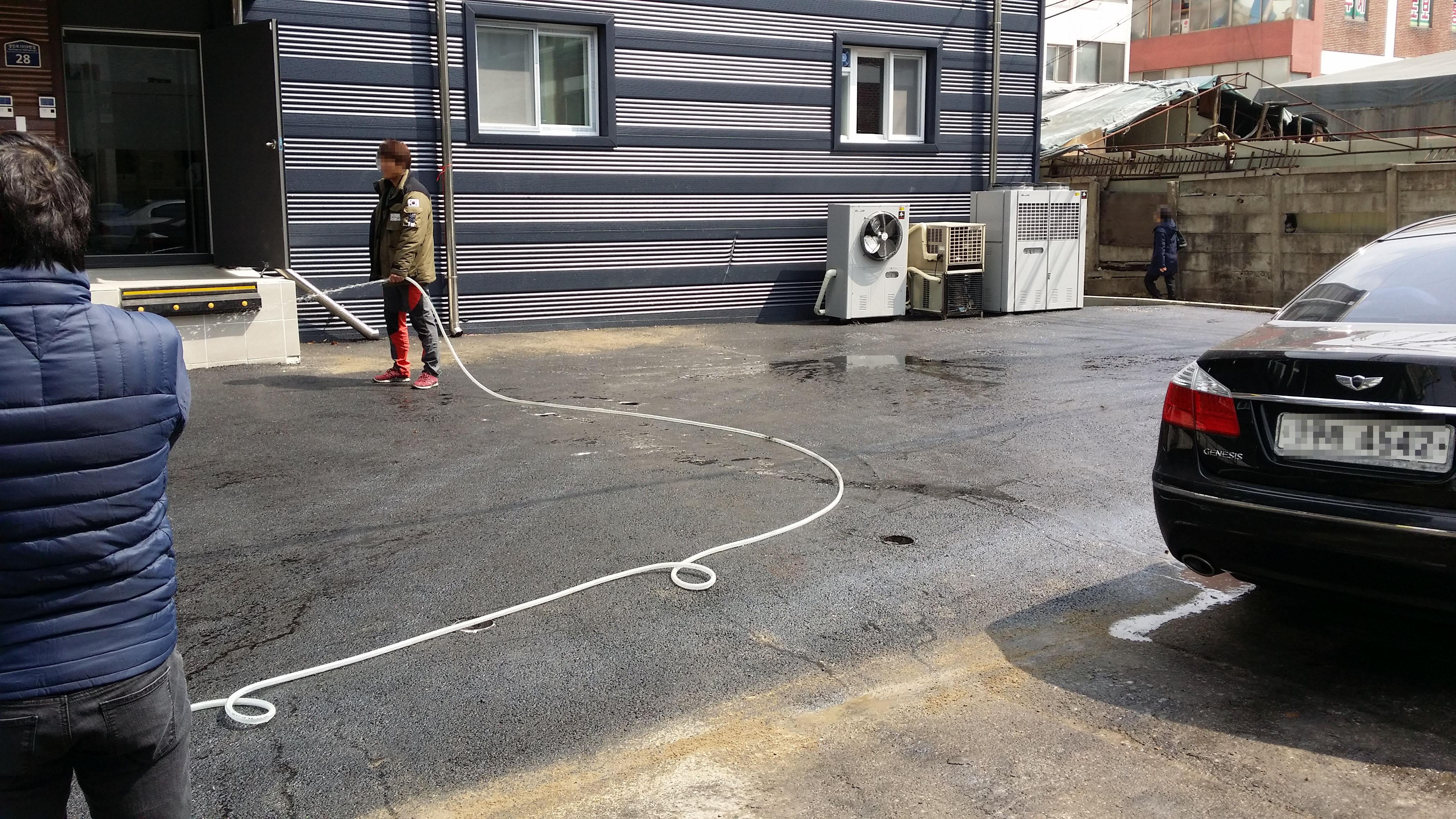 인천 부개동 공장주차장 포장공사